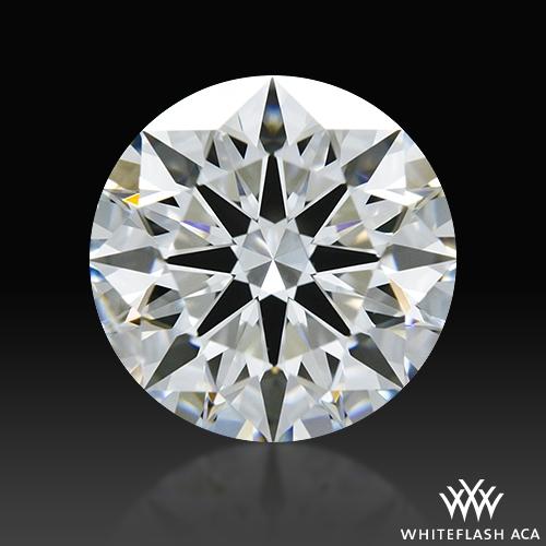 1.226 ct E SI1 A CUT ABOVE® Hearts and Arrows Super Ideal Round Cut Loose Diamond