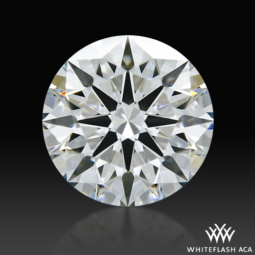 1.213 ct F VS1 A CUT ABOVE® Hearts and Arrows Super Ideal Round Cut Loose Diamond