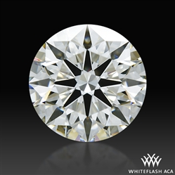 1.24 ct I VS1 A CUT ABOVE® Hearts and Arrows Super Ideal Round Cut Loose Diamond