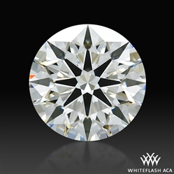 1.577 ct I SI1 A CUT ABOVE® Hearts and Arrows Super Ideal Round Cut Loose Diamond