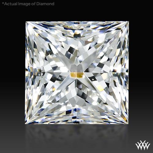 1.003 ct F SI1 A CUT ABOVE® Princess Super Ideal Cut Diamond