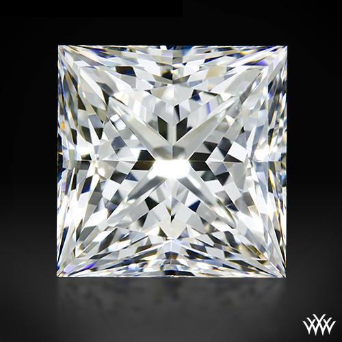 1.004 ct F VS2 A CUT ABOVE® Princess Super Ideal Cut Diamond