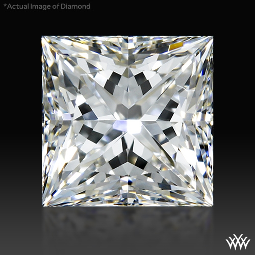 0.758 ct F VS2 A CUT ABOVE® Princess Super Ideal Cut Diamond