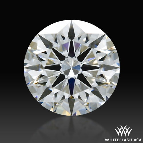 0.616 ct E VS2 A CUT ABOVE® Hearts and Arrows Super Ideal Round Cut Loose Diamond