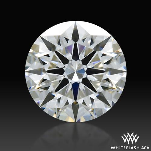 0.616 ct E VS2 A CUT ABOVE® Hearts and Arrows Super Ideal Round Cut Loose Diamond