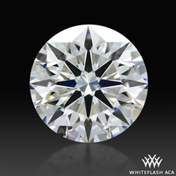 0.592 ct D VS1 A CUT ABOVE® Hearts and Arrows Super Ideal Round Cut Loose Diamond