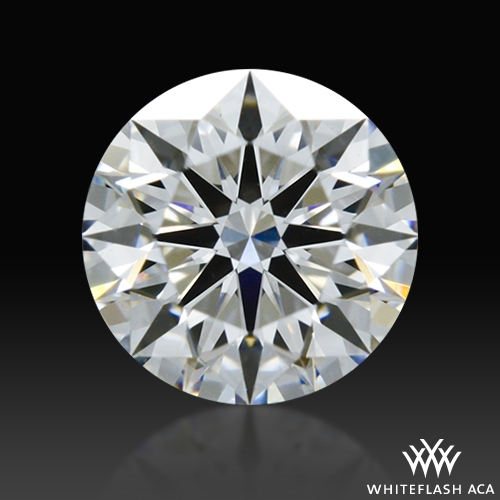0.608 ct D VS1 A CUT ABOVE® Hearts and Arrows Super Ideal Round Cut Loose Diamond