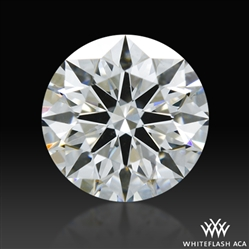 0.631 ct F VS2 A CUT ABOVE® Hearts and Arrows Super Ideal Round Cut Loose Diamond