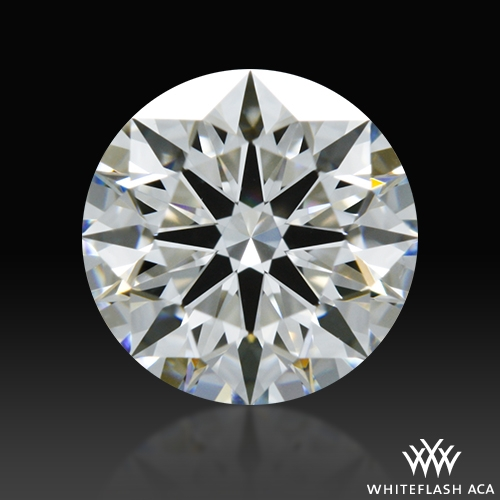 0.727 ct F VS1 A CUT ABOVE® Hearts and Arrows Super Ideal Round Cut Loose Diamond