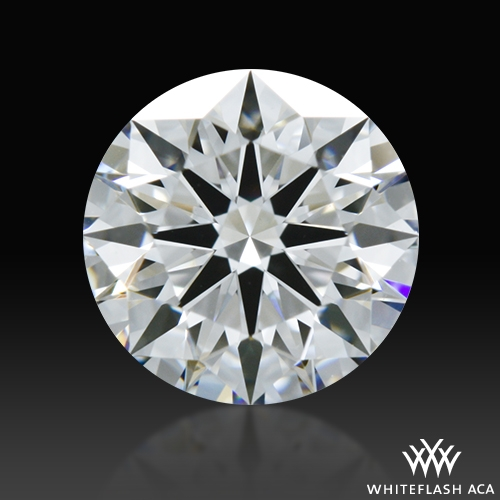 0.708 ct D VVS2 A CUT ABOVE® Hearts and Arrows Super Ideal Round Cut Loose Diamond
