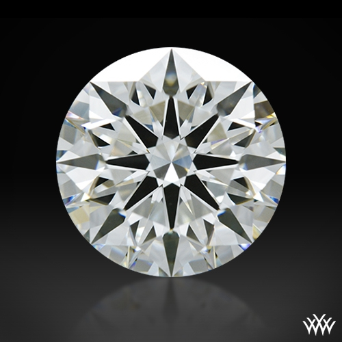 2.034 ct H VS1 A CUT ABOVE® Hearts and Arrows Super Ideal Round Cut Loose Diamond