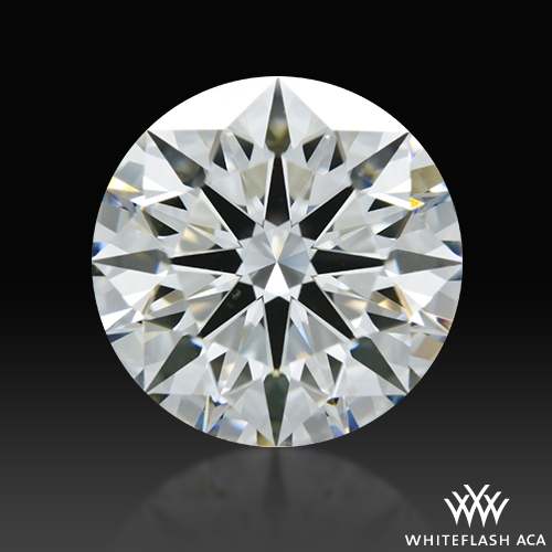 2.105 ct I VS2 A CUT ABOVE® Hearts and Arrows Super Ideal Round Cut Loose Diamond