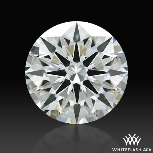 2.02 ct H VS2 A CUT ABOVE® Hearts and Arrows Super Ideal Round Cut Loose Diamond