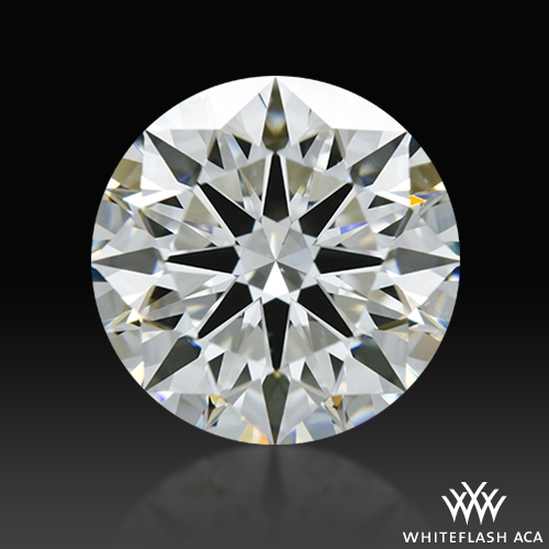 2.08 ct H SI1 A CUT ABOVE® Hearts and Arrows Super Ideal Round Cut Loose Diamond
