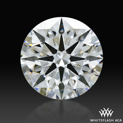 0.901 ct F VS1 A CUT ABOVE® Hearts and Arrows Super Ideal Round Cut Loose Diamond