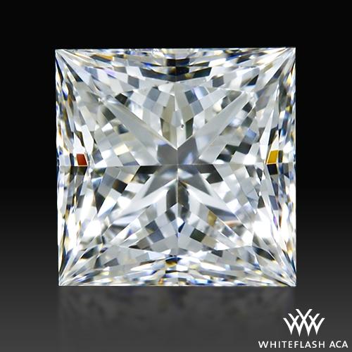 0.528 ct G SI1 A CUT ABOVE® Princess Super Ideal Cut Diamond