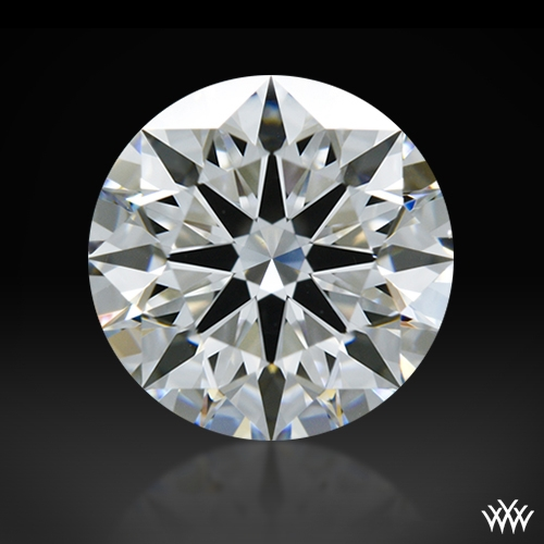 1.34 ct E VVS2 A CUT ABOVE® Hearts and Arrows Super Ideal Round Cut Loose Diamond