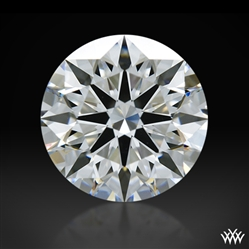 1.34 ct E VVS2 A CUT ABOVE® Hearts and Arrows Super Ideal Round Cut Loose Diamond