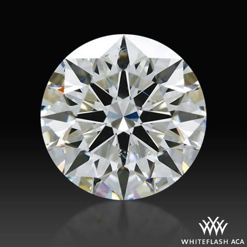 1.311 ct F SI1 A CUT ABOVE® Hearts and Arrows Super Ideal Round Cut Loose Diamond