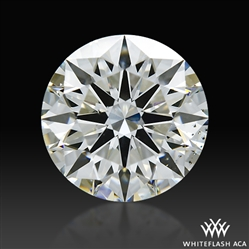1.205 ct H SI1 A CUT ABOVE® Hearts and Arrows Super Ideal Round Cut Loose Diamond