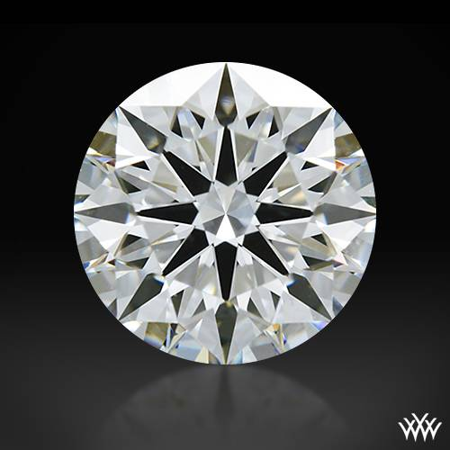 1.033 ct F VS1 A CUT ABOVE® Hearts and Arrows Super Ideal Round Cut Loose Diamond