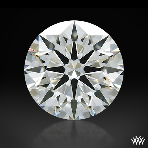 0.57 ct I VVS2 A CUT ABOVE® Hearts and Arrows Super Ideal Round Cut Loose Diamond