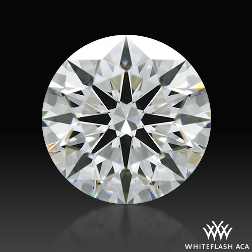 0.554 ct I VS2 A CUT ABOVE® Hearts and Arrows Super Ideal Round Cut Loose Diamond