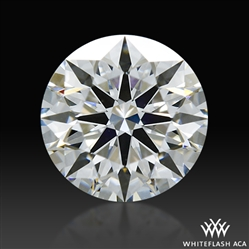 0.522 ct F VS1 A CUT ABOVE® Hearts and Arrows Super Ideal Round Cut Loose Diamond