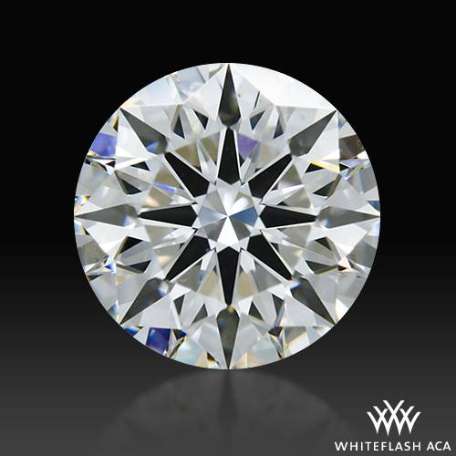 0.718 ct E VS1 A CUT ABOVE® Hearts and Arrows Super Ideal Round Cut Loose Diamond
