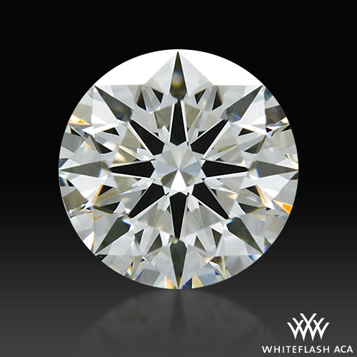 0.724 ct I VS1 A CUT ABOVE® Hearts and Arrows Super Ideal Round Cut Loose Diamond