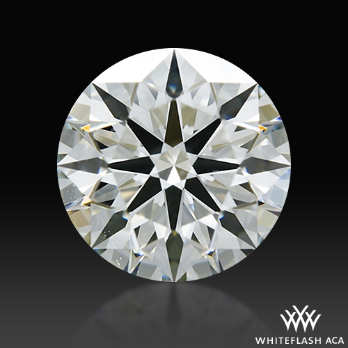 0.73 ct J VS1 A CUT ABOVE® Hearts and Arrows Super Ideal Round Cut Loose Diamond