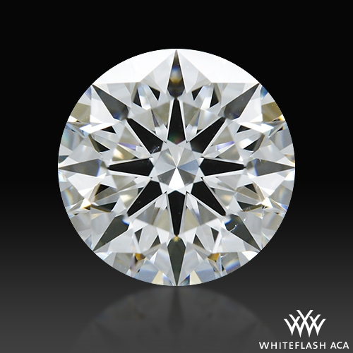 1.025 ct E SI1 A CUT ABOVE® Hearts and Arrows Super Ideal Round Cut Loose Diamond