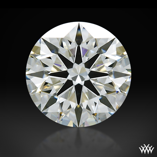 0.734 ct I VS1 A CUT ABOVE® Hearts and Arrows Super Ideal Round Cut Loose Diamond
