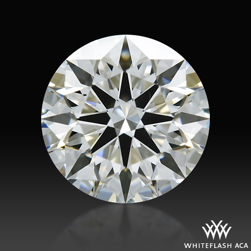 0.728 ct H SI1 A CUT ABOVE® Hearts and Arrows Super Ideal Round Cut Loose Diamond