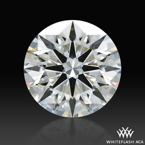 0.788 ct E SI1 A CUT ABOVE® Hearts and Arrows Super Ideal Round Cut Loose Diamond