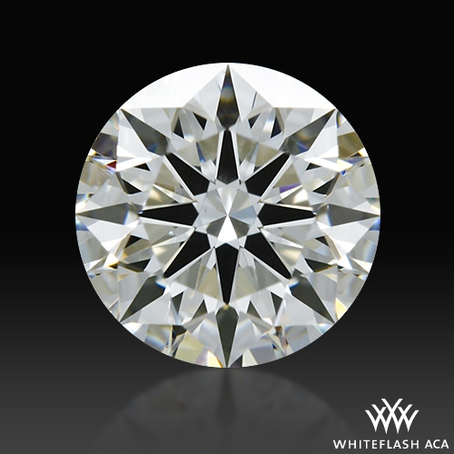 0.726 ct H VS2 A CUT ABOVE® Hearts and Arrows Super Ideal Round Cut Loose Diamond
