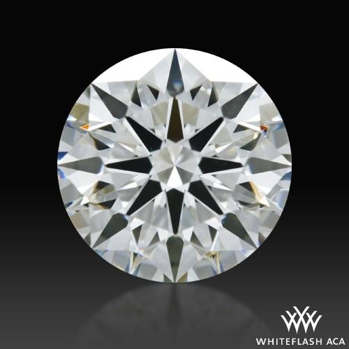 1.526 ct H SI1 A CUT ABOVE® Hearts and Arrows Super Ideal Round Cut Loose Diamond