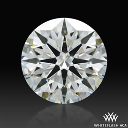 1.024 ct I SI1 A CUT ABOVE® Hearts and Arrows Super Ideal Round Cut Loose Diamond