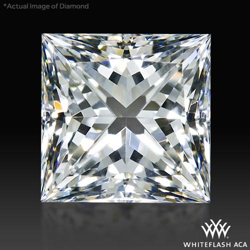 1.004 ct H SI1 A CUT ABOVE® Princess Super Ideal Cut Diamond
