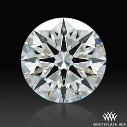 1.242 ct H SI1 A CUT ABOVE® Hearts and Arrows Super Ideal Round Cut Loose Diamond