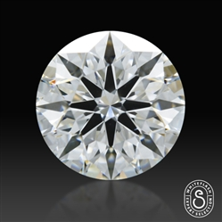 0.908 ct F SI1 Expert Selection Round Cut Loose Diamond