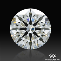 1.208 ct G SI1 A CUT ABOVE® Hearts and Arrows Super Ideal Round Cut Loose Diamond