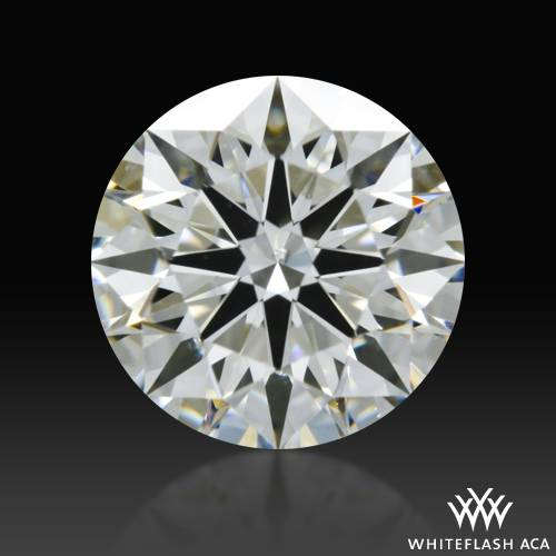 1.032 ct F SI1 A CUT ABOVE® Hearts and Arrows Super Ideal Round Cut Loose Diamond