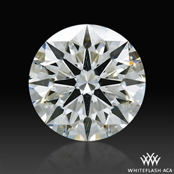 1.017 ct H SI2 A CUT ABOVE® Hearts and Arrows Super Ideal Round Cut Loose Diamond