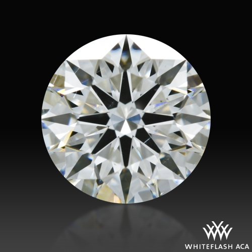 1.057 ct I SI1 A CUT ABOVE® Hearts and Arrows Super Ideal Round Cut Loose Diamond