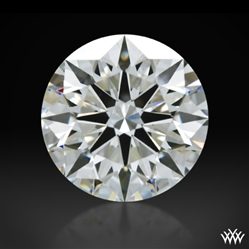 1.535 ct H VS2 A CUT ABOVE® Hearts and Arrows Super Ideal Round Cut Loose Diamond