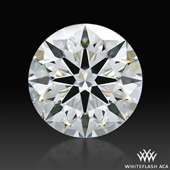 2.217 ct F VVS1 A CUT ABOVE® Hearts and Arrows Super Ideal Round Cut Loose Diamond