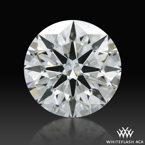 0.30 ct F SI1 A CUT ABOVE® Hearts and Arrows Super Ideal Round Cut Loose Diamond
