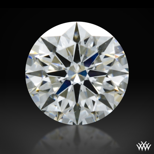 0.315 ct F SI1 A CUT ABOVE® Hearts and Arrows Super Ideal Round Cut Loose Diamond