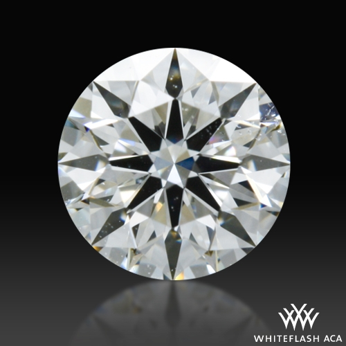 0.328 ct F SI2 A CUT ABOVE® Hearts and Arrows Super Ideal Round Cut Loose Diamond